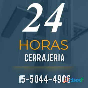 Cerrajeria 24 horas a domicilio cerrajero //1550444906//