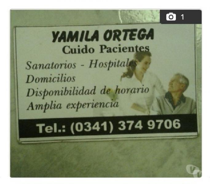 Cuidado de pacientes sanatorios y domicillio