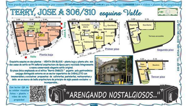 Valle 1200 - casa en venta en caballito, capital federal