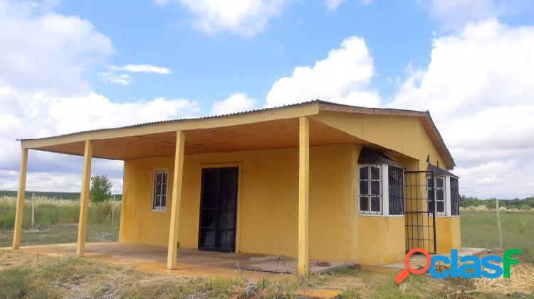 Terreno y vivienda en barrio privado rural, capiz, san carlos mendoza