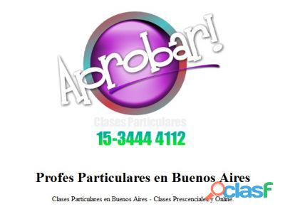 Clases particulares online analisis matematico iii