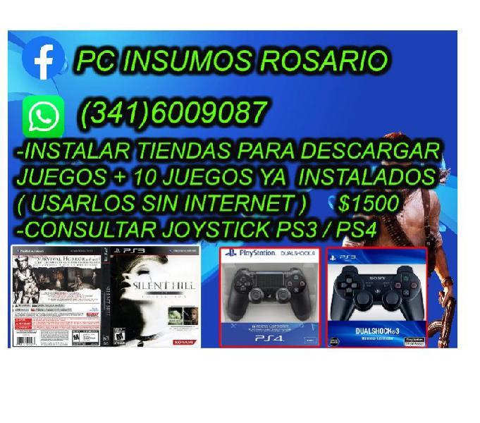 JUEGOSS PS3 + TIENDA