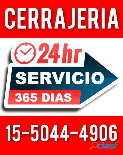 """""""cerrajeria 24 hs"""" 15 5044 4906 puertas blindex"""