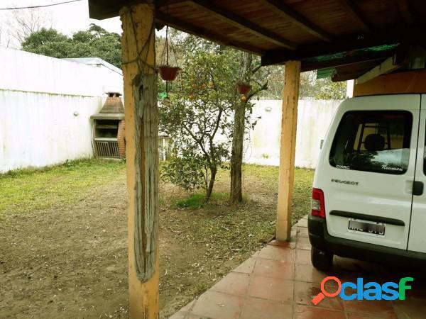 EXC.OPORTUNIDAD EN PARQUE LELOIR-CASA C/LOTE 22MTS DE FRENTE A 1 CUADRA DE M.FIERRO - IDEAL INVERSOR