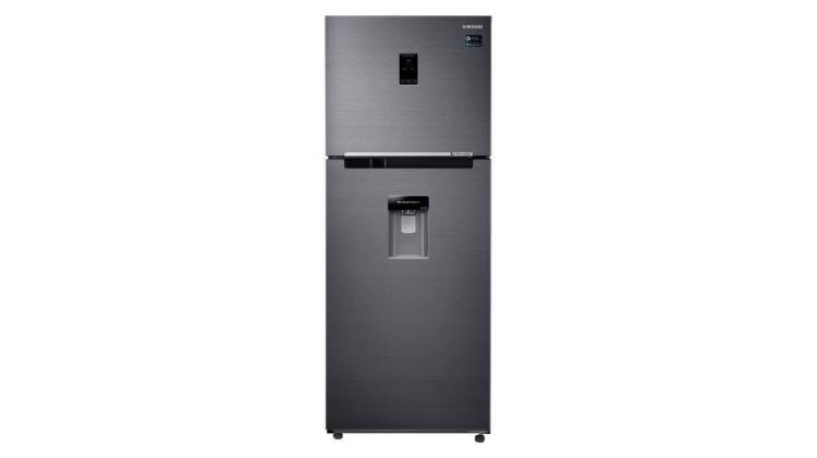 Heladera samsung twin cooling plus no frost 396l rt38 black
