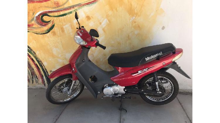 Motomel Blitz 110cc modelo 2015. Pocos Kilometros 12.800.