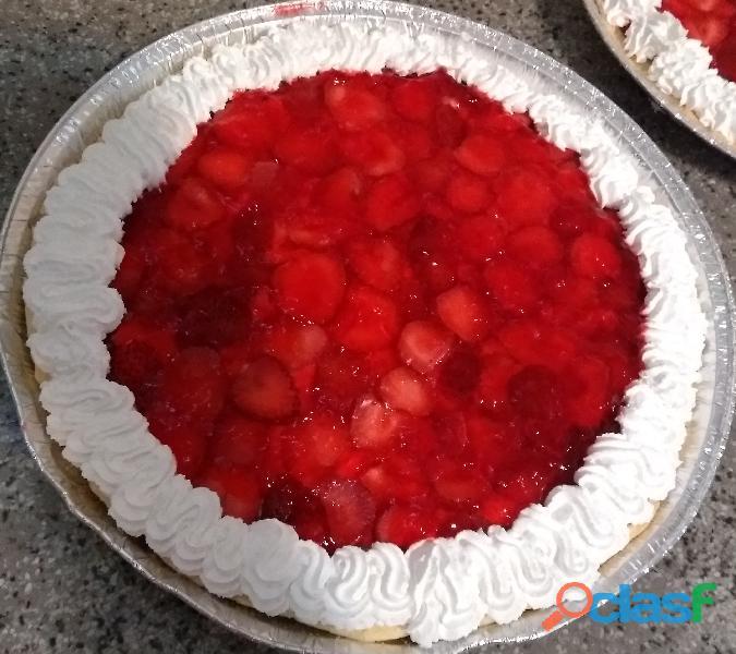 Tarta de frutilla, Tarta de durazno y Lemon Pie en Monte Grande   DElivery