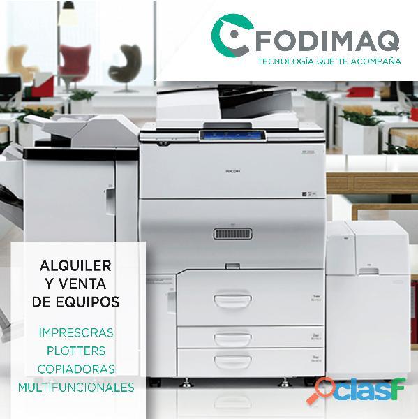 Impresoras, copiadoras y plotters en Zona Norte 1