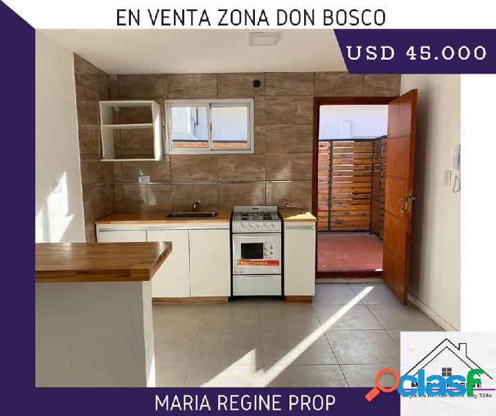 Venta ph - duplex 2 ambientes don bosco y castelli mar del plata