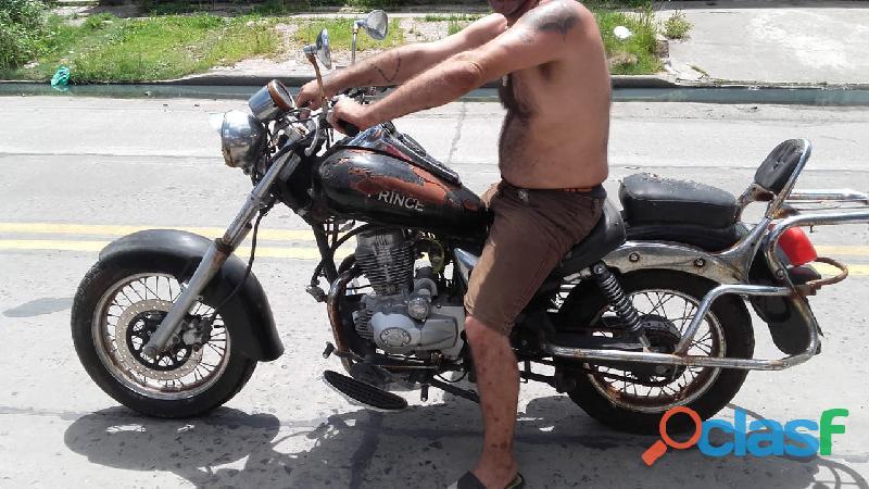 vendo moto cerro prince 150cc, 2006 con papeles, cédula,08