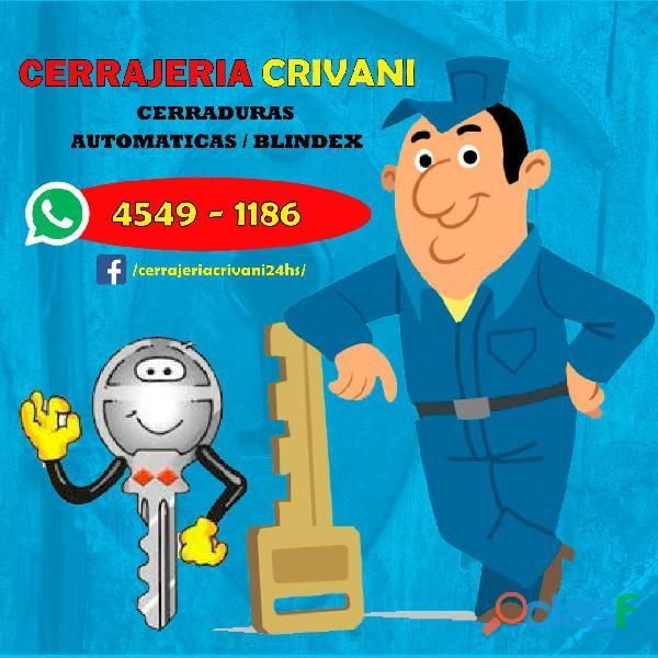 CERRAJERIA EN BECCAR *((4549 1186))* CERRAJERO 24 HS 2