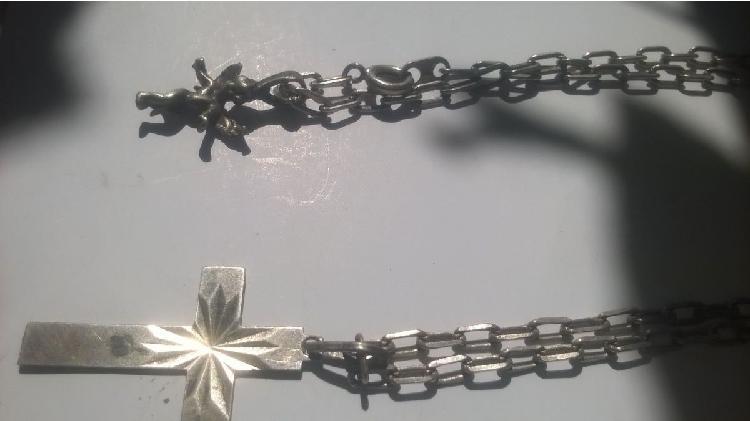 Cadenas y pulseras de plata