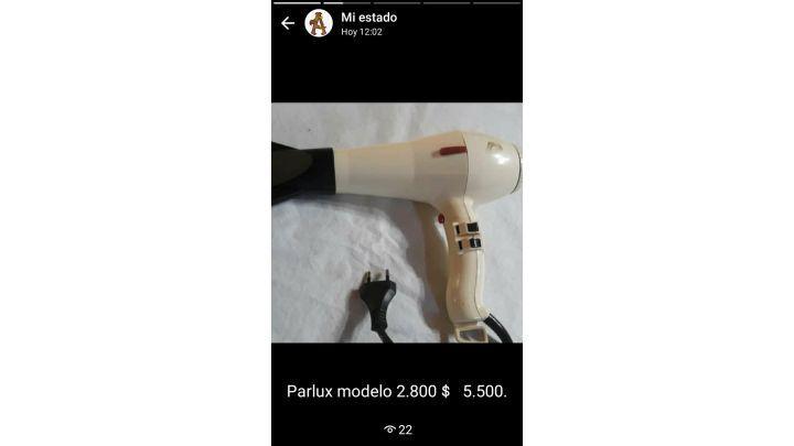 Secador de cabellos parlux m 3000 - parlux m 2800