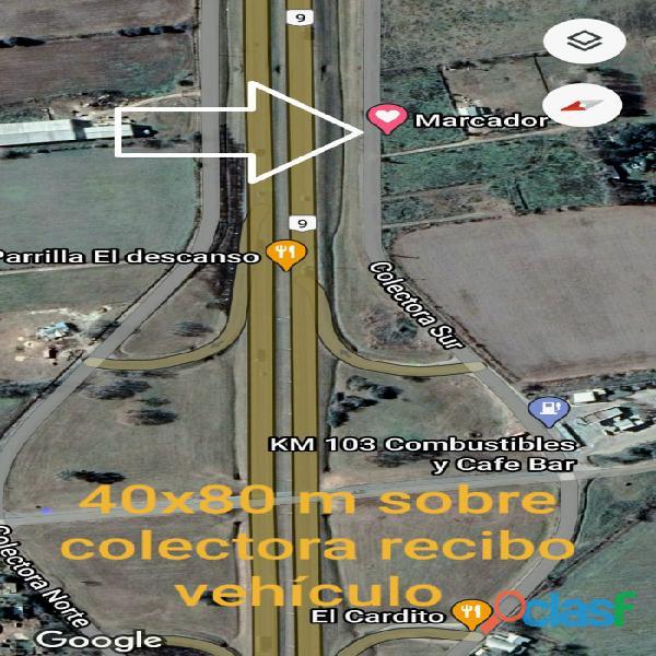 Hermosa Fracción 4100 m2 sobre Colectora Panamericana altura bajada km 103
