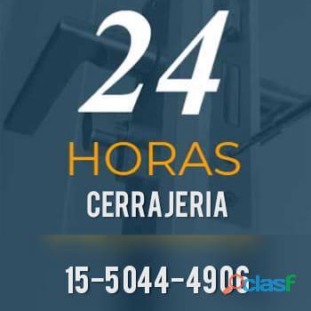 Cerrajería 24 horas en Beccar de puertas de blindex 11 5044 4906. Cerrajero para el automotor