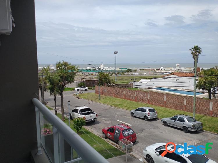 departamento un ambiente con balcon vista al mar financia 1