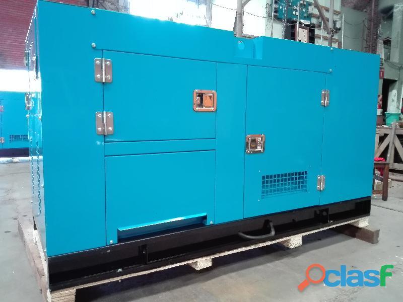 Grupo electrógeno diesel 40 kva cabinado insonorizado