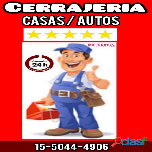 Cerrajería del automotor en villa maipú 15 5044 4906 cerrajero casas   autos puertas blindex