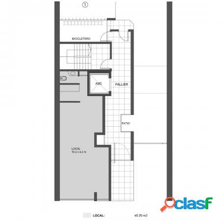 Monoambiente - balcón aterrazado - entrega inmediata - calidad y diseño - rodriguez 1100