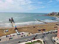 Departamento 1 ambiente y medio con vista al mar en venta