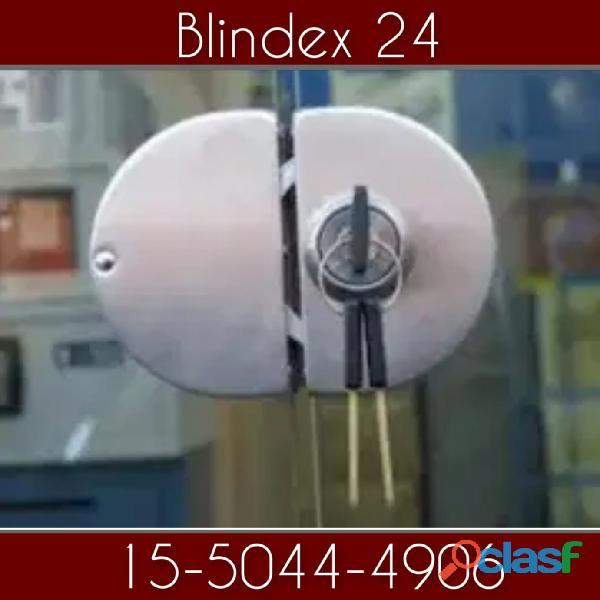 Cerrajero puertas blindex en Villa Adelina //15 5044 4906// cerrajería 24 horas a domicilio