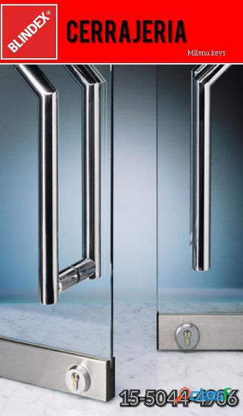Cerrajero puertas blindex en Villa Adelina //15 5044 4906// cerrajería 24 horas a domicilio 1