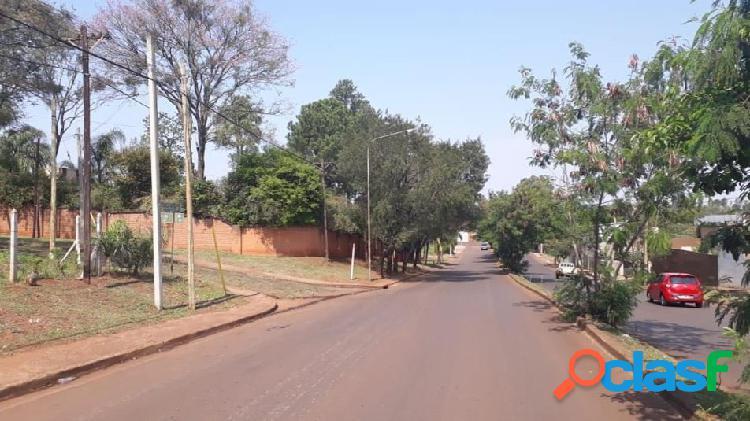 Lote sobre Avenida en Venta en Posadas Misiones 2