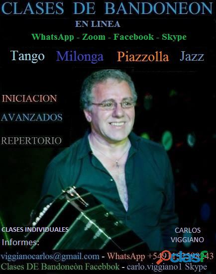 BANDONEON CLASES ON LINE