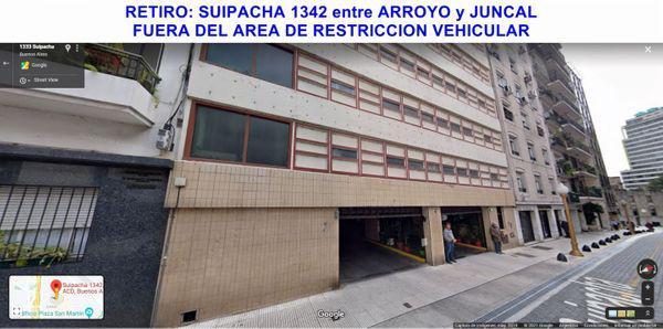 Suipacha 1300 - cochera en venta en retiro, capital federal