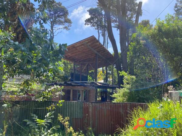 Casa estilo cabaña a terminar en venta bosque peralta ramos mar del plata