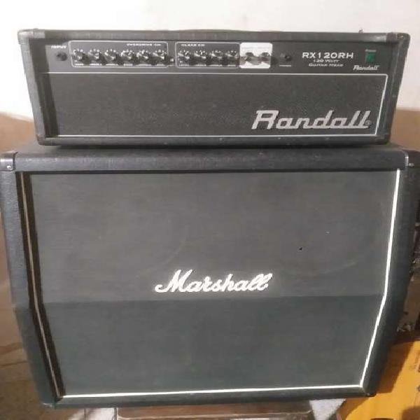 Marshall Randall caja y cabezal