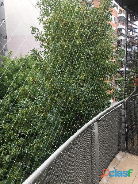 Redes para balcones 10