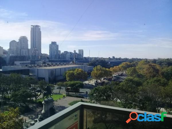 Borges 2400 cuatro ambiente piso alto vista panoramica reciclado, venta