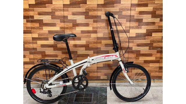 Bicicleta Plegable Top Mega Folding Escucho Oferta Impecable