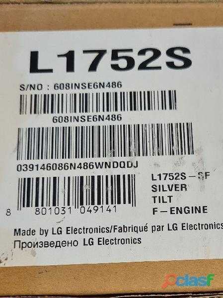"""Vendo monitor LG Flatron 17"""" LCD 2"""
