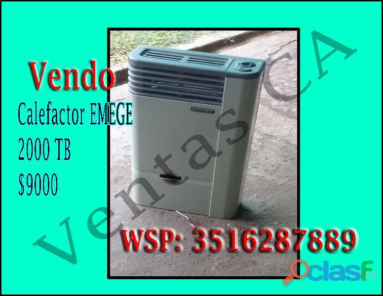 Vendo!! Calefactor
