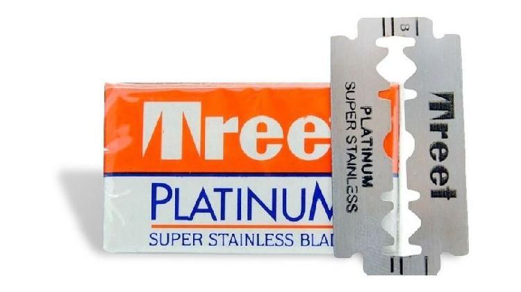 Hoja de afeitar treet platinum x 10