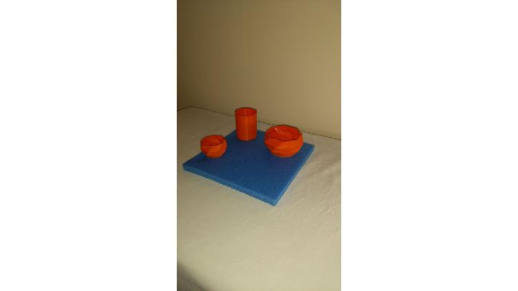 Mini macetas 3d bonzai-cactus