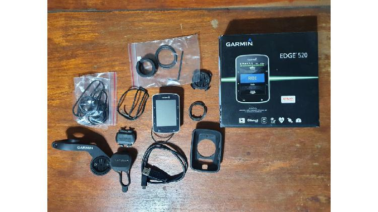 Garmin edge 520 + accesorios varios