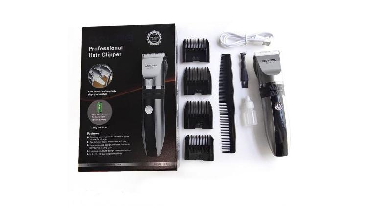 Máquina de cortar cabello recargable