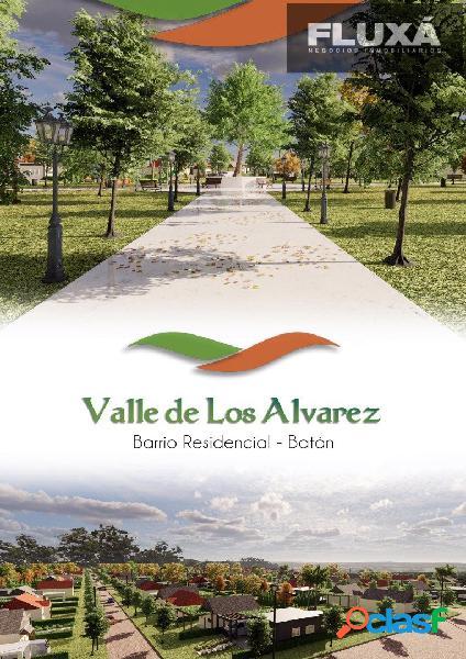 Lotes en batan barrio residencial valle de los alvarez