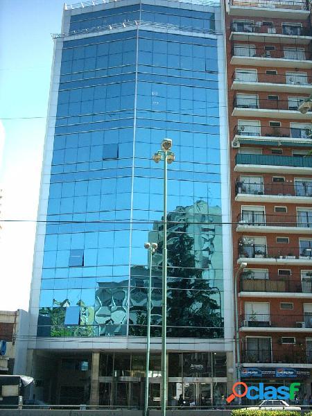 Oficina 285m² totales (semi piso) - edificio de categoria - sobre av. cabildo cerca subte y tren