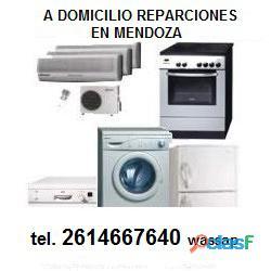 Reparación arreglo de lavarropas en mendoza
