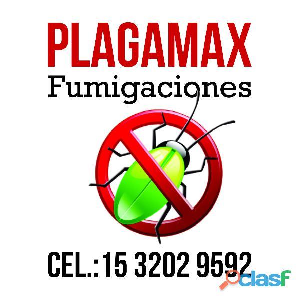 Plagamax   fumigaciones en gba zona sur