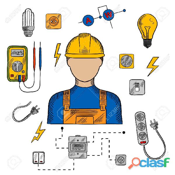 Servicio tecnico (electricista matriculado)