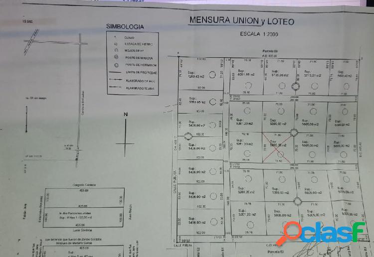 VENDO RECIBO PESOS TERRENO TERRA NOSTRA 1600m2 Bº c/ SEGURIDAD 2