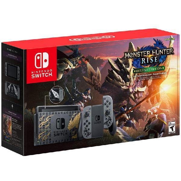 Nintendo Switch Edicion Limitada Monster Hunter Rise (2021)