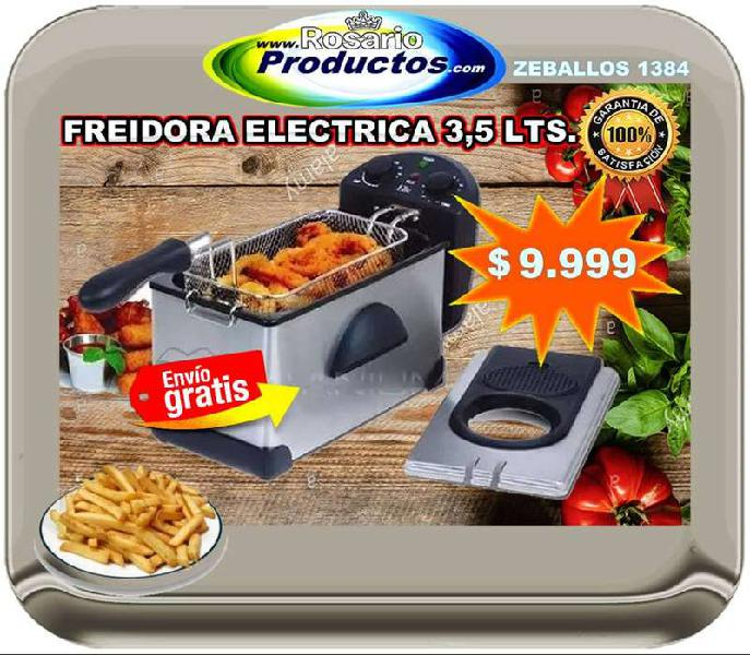 Freidora electrica 3,5 lts. (envio gratis rosario)