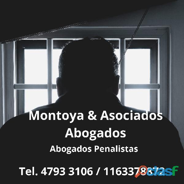 Abogado Penalista en CABA y ZONA NORTE   Tel. 1163378872 24 Horas