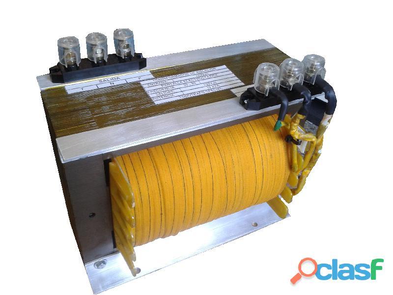 Fabrica de transformadores standar y especiales. 1
